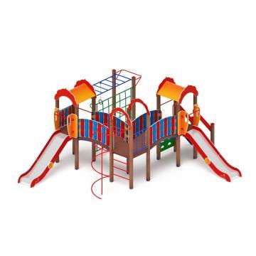 Детский игровой комплекс «Городок» ДИК 2.01.3.01 H=1200