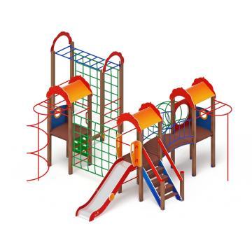 Детский игровой комплекс «Городок» ДИК 2.01.3.04 H=1200