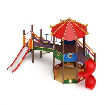 Детский Игровой комплекс «Карнавал ДИК 2.22.02 H=2000, H=1200