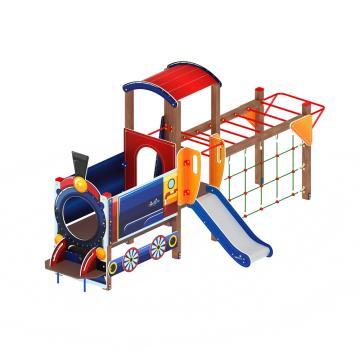 Детский игровой комплекс «Паровозик» ДИК 1.03.5.04 H=750