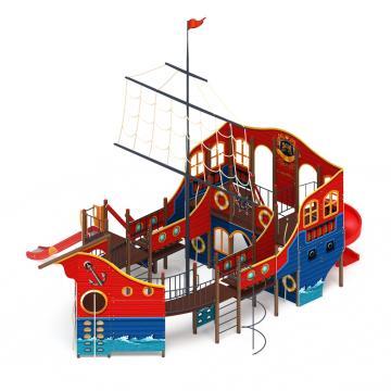 Детский игровой комплекс «Фрегат» ДИК 2.03.3.04 H=1500 H=2000