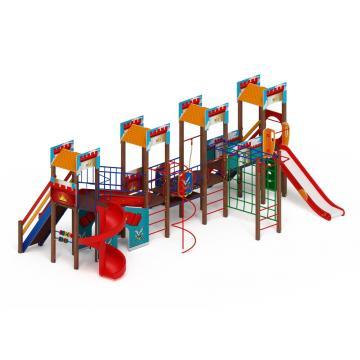 Детский игровой комплекс «Замок» ДИК 2.18.10-01 H=1500 H=2000