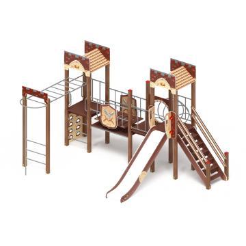Детский игровой комплекс «Замок» ДИК 2.18.01 H=1500