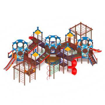 Детский игровой комплекс «Морской» ДИК 2.17.08 H=1200 H=2000