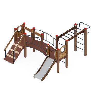 Детский игровой комплекс «Карапуз» ДИК 1.001.05-01 H=750