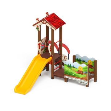 Детский игровой комплекс «В гостях у сказки» ДИК 1.05.01-05 H=900