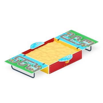 Песочница с крышкой Игра (средняя) ИО 5.01.11-06