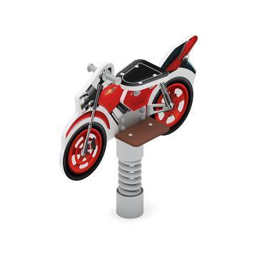Качалка на пружине Мотоцикл (красный) ИО 22.03.01-02