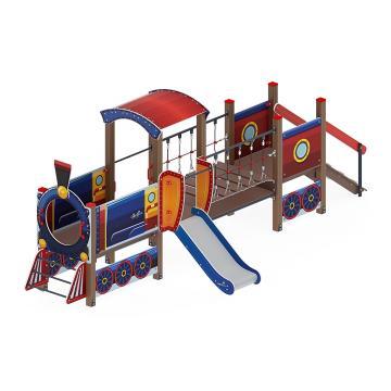 Детский игровой комплекс «Паровозик» ДИК 1.03.5.02-01 H=750