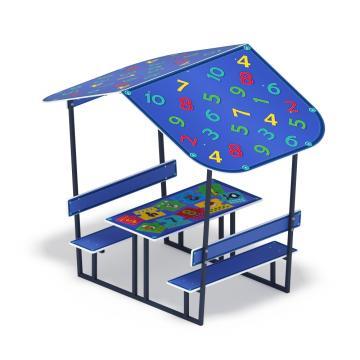 Столик детский с навесом Арифметика МФ 31.01.08-03
