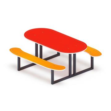 Столик детский овальный МФ 31.01.09-01