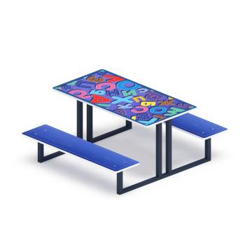 Столик детский Азбука МФ 31.01.06-01